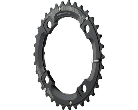 SRAM GX 2x11 Speed Chainring (Black) (104mm BCD) (36T)