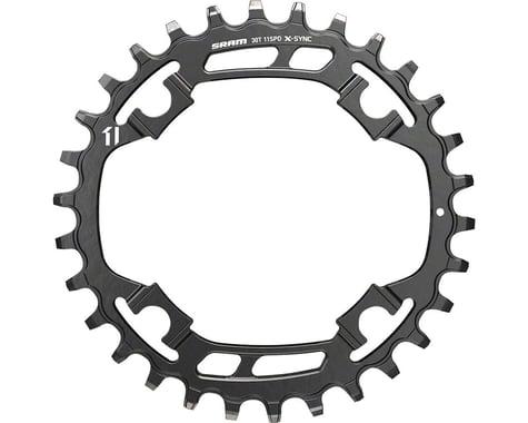 SRAM X-Sync Steel Chainring (Black) (94mm BCD) (Offset N/A) (30T)
