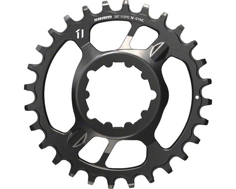 SRAM X-Sync Steel Direct Mount Chainring (3mm Offset) (30T)