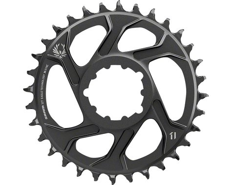 SRAM X-Sync 2 Eagle Direct Mount BB30/GPX Chainring (Black) (6mm Offset) (30T)