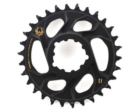 SRAM X-Sync 2 Eagle Direct Mount Chainring (Black/Gold) (6mm Offset) (30T)