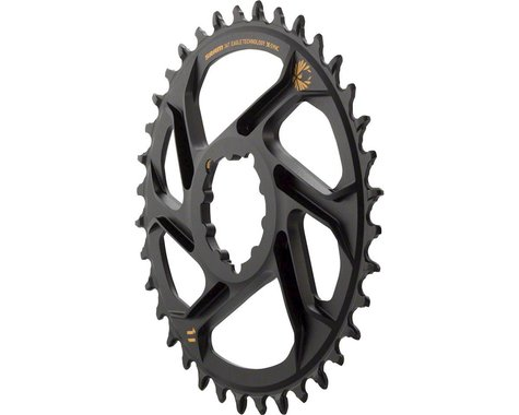 SRAM X-Sync 2 Eagle Direct Mount Chainring (Black/Gold) (6mm Offset) (36T)