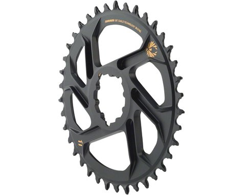 SRAM X-Sync 2 Eagle Direct Mount Chainring (Black/Gold) (6mm Offset) (38T)