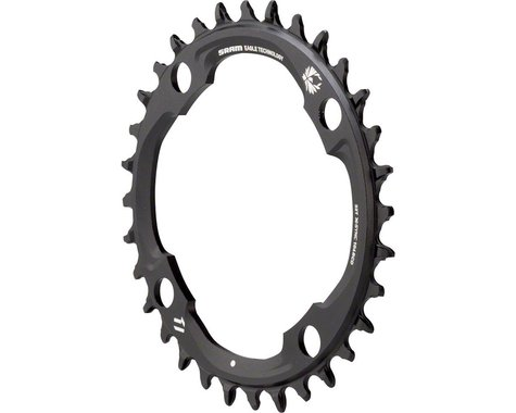 SRAM X-Sync 2 Eagle 11 or 12-Speed Chainring (Black) (104mm BCD) (Offset N/A) (32T)