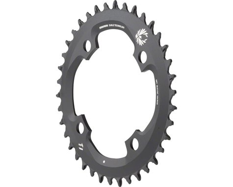 SRAM X-Sync 2 Eagle 11 or 12-Speed Chainring (Black) (104mm BCD) (38T)