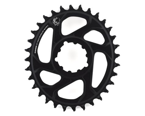 SRAM Eagle X-Sync 2 Oval Direct Mount Chainring (Black) (Boost) (3mm Offset) (32T)