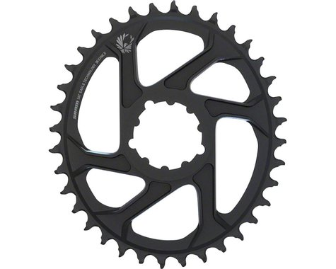 SRAM Eagle X-Sync 2 Oval Direct Mount Chainring (Black) (Boost) (3mm Offset) (34T)