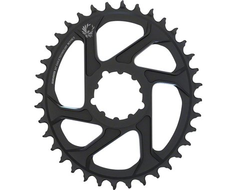 SRAM Eagle X-Sync 2 Oval Direct Mount Chainring (Black) (6mm Offset) (36T)