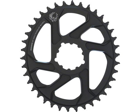 SRAM Eagle X-Sync 2 Oval Direct Mount Chainring (Black) (Boost) (3mm Offset) (38T)