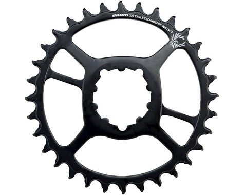 SRAM X-Sync 2 Eagle Steel Direct Mount Chainring (6mm Offset) (34T)