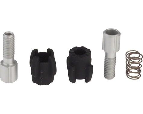 SRAM XX/X0/X9 Cable Barrel Adjuster Kit (Black/Silver) (Pair)