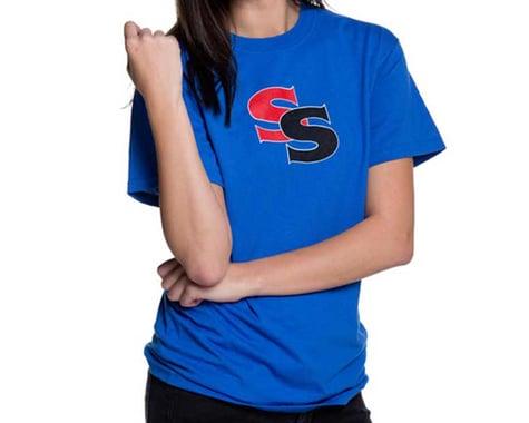 SSquared Logo T-Shirt (Blue) (Youth) (Kids M)