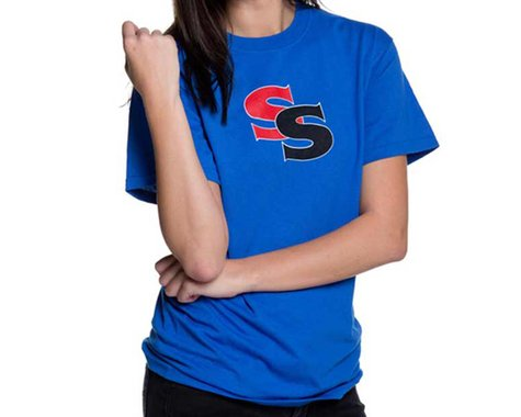 SSquared Logo T-Shirt (Blue) (Youth) (Kids XL)