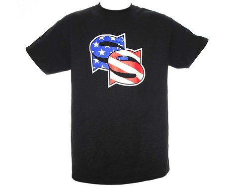 SSquared Stars & Stripes T-Shirt (Black) (Kids M)