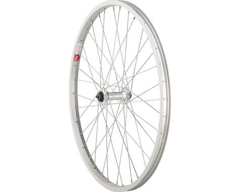 "Sta-Tru Front Wheel (Silver) (24"" x 1.5"") (QR) (36 Spokes)"
