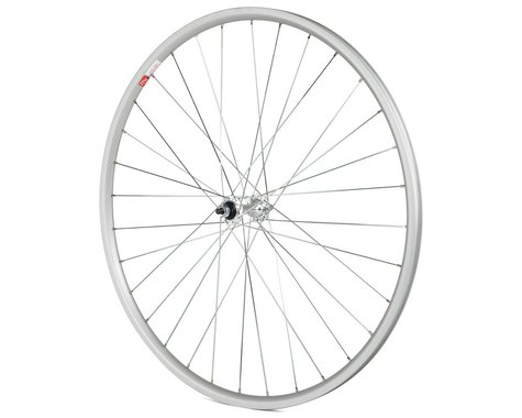 "Sta-Tru 27"" Bolt-on Front Wheel (Silver) (36H) (3/8"" x 100mm)"