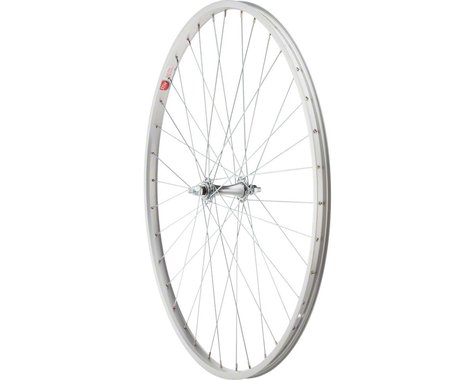 "Sta-Tru Front Wheel 27"" Silver Alloy Rim, Bolt-on Axle, 36 Spokes, Includes Axle"
