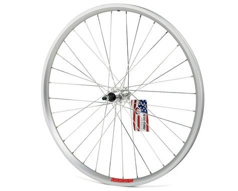 """Sta-Tru 26"""" Alloy Rear Wheel (Silver) (Solid Axle) (5-8 Speed Freewheel)"""