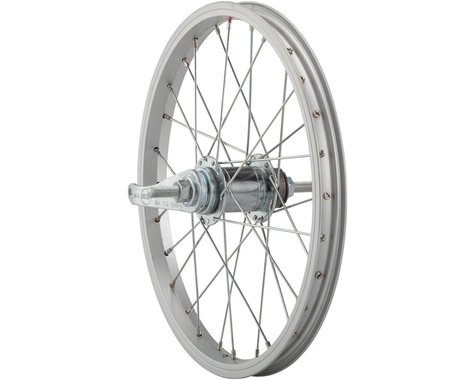 "Sta-Tru Rear Wheel 16"" Coaster Brake, 28 Spokes, Steel Rim, Bolt-on Axle, Includ"