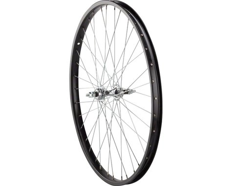 """Sta-Tru Rear Wheel 26"""" Bolt-on Axle, 36 Spokes, 6-7 Speed Freewheel, Steel Rim,"""