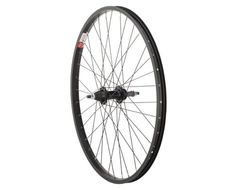 """Sta-Tru Rear Wheel 24"""" x 1.5"""" Solid Axle, 36 Spokes, 5-8 Speed Freewheel, Includ"""