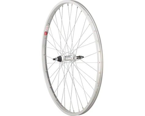 Sta-Tru Alloy Rear Wheel (Solid Axle) (5-8 Speed Freewheel) (Silver)