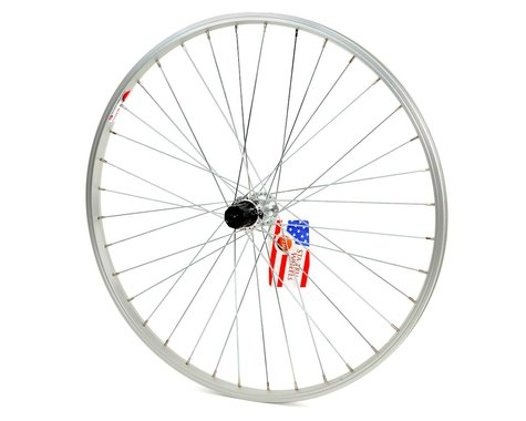 """Sta-Tru ST1 26"""" Alloy Rear Wheel (QR) (8/9 Speed) (Silver)"""