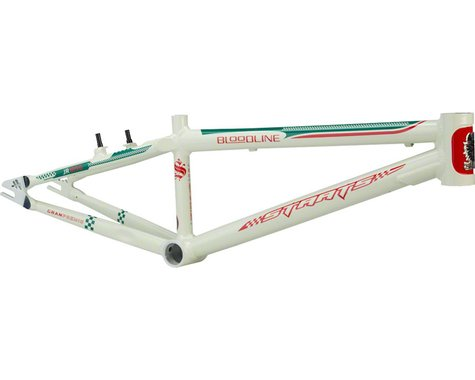 "Staats Bloodline GranPremio BMX Race Frame - Junior, 18.5"" TT, Spanish White, Bl"