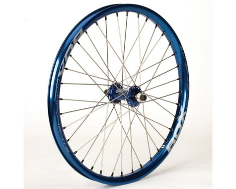 Stealth Custom Stealth/Box Front Wheel (Blue/Silver/Blue)