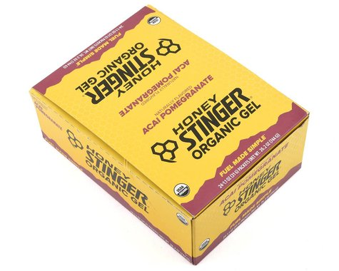 Honey Stinger Energy Gel (Acai Pomegranate) (24 1.2oz Packets)