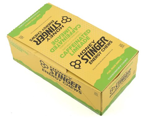 Honey Stinger Organic Energy Chews (Limeade) (12 1.8oz Packets)
