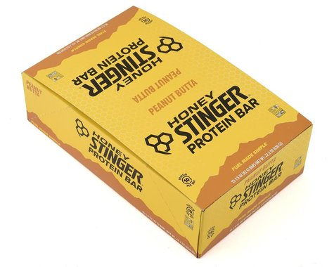 Honey Stinger 10g Protein Bars (Peanut Butta Flavor) (15 1.5oz Packets)