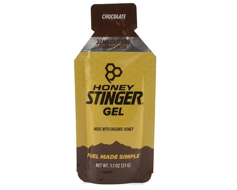 Honey Stinger Energy Gel (Chocolate w/ Caffeine) (1)