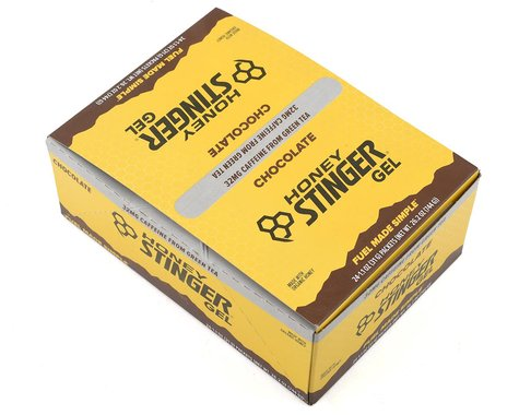 Honey Stinger Organic Energy Gel (Chocolate w/ Caffeine) (24 1.2oz Packets)