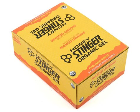 Honey Stinger Organic Energy Gel (Mango-Orange) (24 1.2oz Packets)
