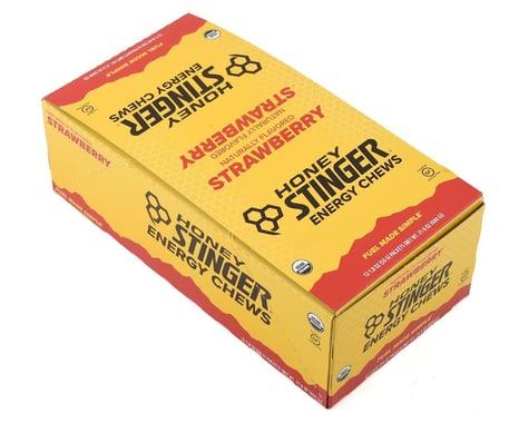Honey Stinger Organic Energy Chews (Strawberry) (12 1.8oz Packets)
