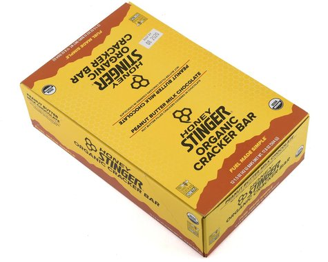 Honey Stinger Organic Cracker Bars (Peanut Butter) (12 1.5oz Packets)
