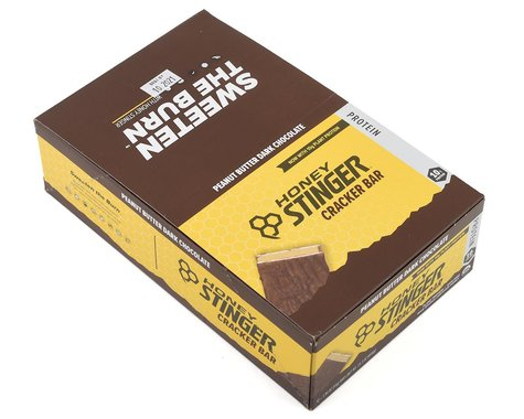 Honey Stinger Organic Cracker Bars (Peanut Butter Dark Chocolate) (12 1.94oz Packets)