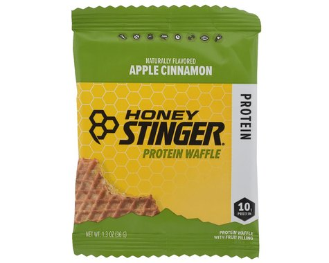 Honey Stinger Protein Waffle (Apple Cinnamon) (1 1.3oz Packet)