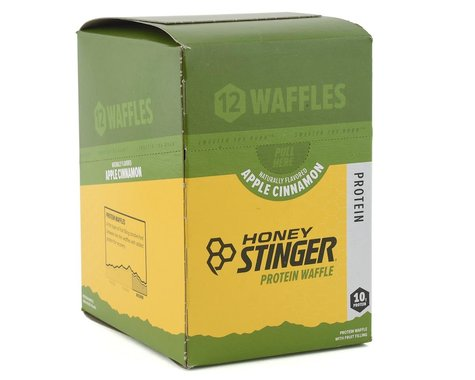 Honey Stinger Protein Waffle (Apple Cinnamon) (12 1.3oz Packets)