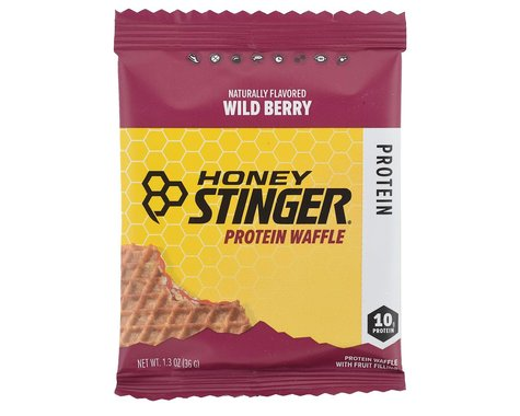 Honey Stinger Protein Waffle (Wild Berry) (1 1.3oz Packet)