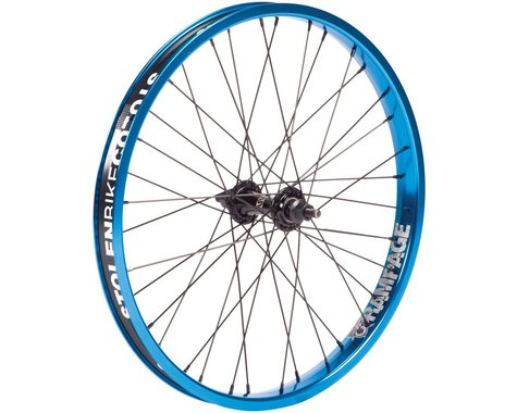 "Stolen Rampage Front Wheel (Black/Blue) (20 x 1.75"")"