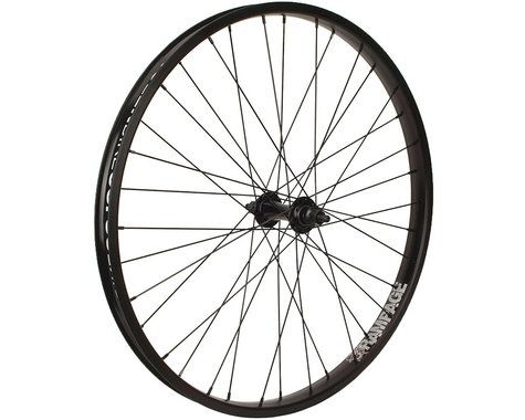 "Stolen Rampage 24"" Cruiser Front Wheel (Black) (24 x 1.75"")"