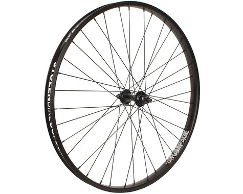 "Stolen Rampage 26"" Cruiser Front Wheel (Black) (26 x 1.75"")"