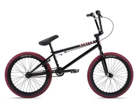 "Stolen 2021 Casino 20"" BMX Bike (20.25"" Toptube) (Black/Blood Red)"