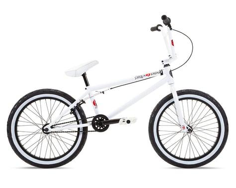 """Stolen 2021 Overlord 20"""" BMX Bike (20.75"""" Toptube) (Snow Blind White)"""