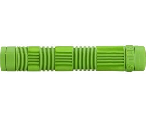Stolen Team Flangeless Grips (Pair) (Bright Green)
