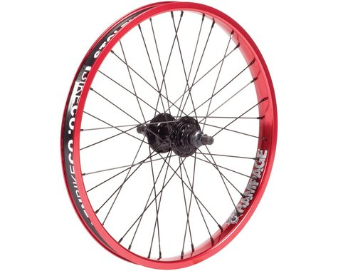 "Stolen Rampage Cassette Wheel (Black/Red) (20 x 1.75"")"