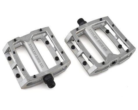 "Stolen Throttle Sealed Pedals (Silver) (9/16"")"