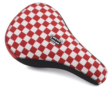 Stolen Fast Times XL Checkerboard Pivotal Seat (Red/White)
